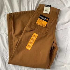 Carhartt for Kids Dubgaree Fit Pants Brown Size 14